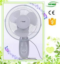 Kitchen used 9'' oriental air circulating fan wall mount oscillating fan