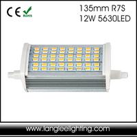 18w 189mm Aluminum +pc 180 Degree R7S LED Bulb