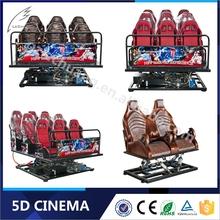 Commercial 8D/9D/Xd Cinema Indoor Cinema Shooting Game Machine
