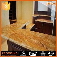 Good quality & best price in China new venetian gold granite countertop kitchen countertop