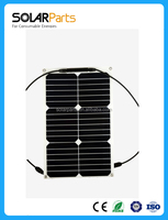 Factory manufatured 18W flexible solar panel for small systems