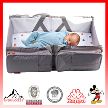 Easy-Fit foldable multifunction outdoor baby cot bag