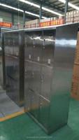 light grey resonable price steel hot sale six door steel locker/cabinet/cupboard