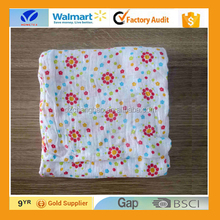 Alibaba Trade Assurance Baby Blanket Wholesale GOTS Muslin Swaddle Blanket