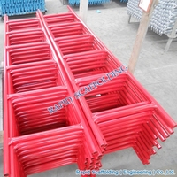 High Quality Powder Coated Ladder Beam Frame Scaffolding for construction