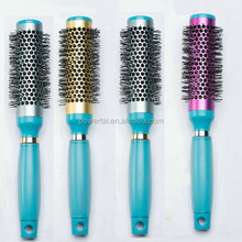 High quality bristle hairbrush bomb hair curl styling comb/modelling comb custom