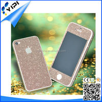 Popular colorful diamond tempered glass screen protector phone 4/5/5s/5c/6/6 plus