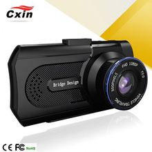 """2014 Newest 170 Degree Gps Car Camcorder Dual Camera With Rechargeable Fashionable Car Dvr Vga / Hd (1280X720) Car Black Box"""