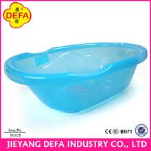 Bath tubs and showers Plastic Baby Bath Translucent PP Baby wash tub