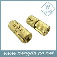 100% brass invisible cylinder hinge