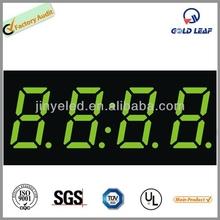 FND number display all color 4 digit 7 segment led display 0.8'' common led display