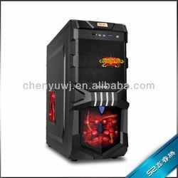 GAMING COMPUTER PC CASE V2 BLACK/WHITE