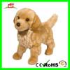 E417 Stuffed Animal Cuddle Plush Golden Retriever Dog Toy