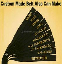 Martial Arts Belt For Aikido, Jiu Jitsu, Judo, Karate, Taekwondo, Sambo, Silat and Custom Made