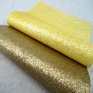 fabricant de PVC en cuir paillettes d'or papier peint