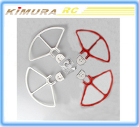 DJI Phantom 3 blade wing Propeller Props Guard Bumper Protector + Adapter White / red / golden