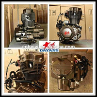 4 Stroke Water/Air Cooled Lifan 200cc Gasoline Tricycle Engine