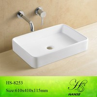 HS-5026 flat bathroom sink/ mold sink/ sanitary ware clean room wash sink