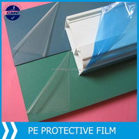 LDPE protection film for window profile and panel