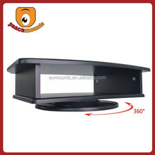 360 degrees rotate Practical use durable solid 1.6cm MDF wood TV Monitor Stand