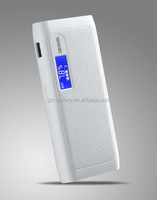 White 5V 2A USB 18650 Battery Mobile Power Bank Charger Box For Phone Tablet with LCD display