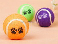 pet toys custom low bounce dog tennis ball sale