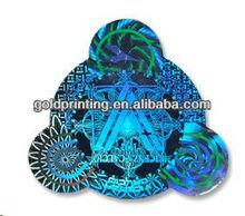 2012 3D hologram label