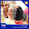 2015 winter fashion women 100% acrylic knitted fingerless gloves