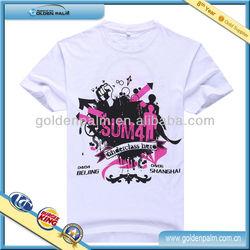 Fashion 100% Cotton Cheap Men's Custom Printed T-shirt