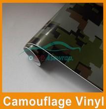1.52*28m PVC self adhesive camouflage car wrap /vinyl custom car sticker/ automotive vinyl roll