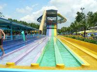 best price used water park rainbow racing slide giant water slide for sale