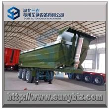 U shape dump semi trailer 2 axle & 3 axle for hot sale, customize other capacity dumper trailer