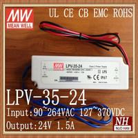 Mean well 35W 24V Constant Voltage LED Driver 24V led driver IP 67 LED driver