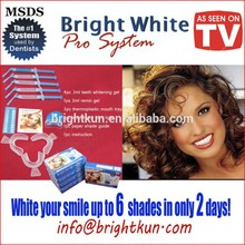 Teeth Whitening Gel Kit, New Fahion smile remove white stains teeth