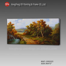 natural scenery pictures handmade painting--home decoration