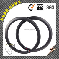 700C carbon bicycle rims 50mm tubeless clincher 23mm width 50mmroad bike rims