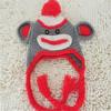 Kids cute animal crochet knitting beanie hat , baby hat