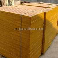 Bamboo pallets/plywood/board for concrete brick/block making machine