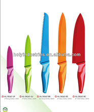 5pcs Non-stick stainless steel color Knife