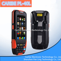 CARIBE PL-40L AM156 Android 4.1 IP65 rugged waterproof mobile phone with 1D/2D barcode scanner