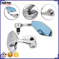 BJ-RM400-02 For Yamaha R1 Bar End Aluminum Chrome Motorcycle Rear Mirror