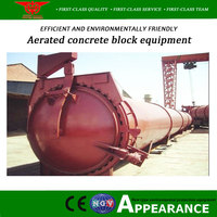 Autoclaved aerated concrete block with an annual output of 50000 cubic meters