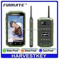 Factory OEM ip68 waterproof 5 inch big Screen smart phone android NFC ip68 waterproof rugged phone