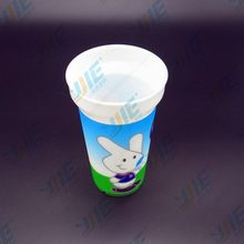 Bottom price best selling 15oz red plastic cup with ball