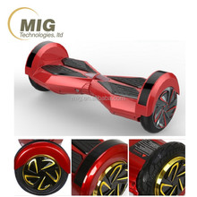8 inch high quality wheels max load 120 kg smart electrical/ electric self balancing scooter cool design with led lights