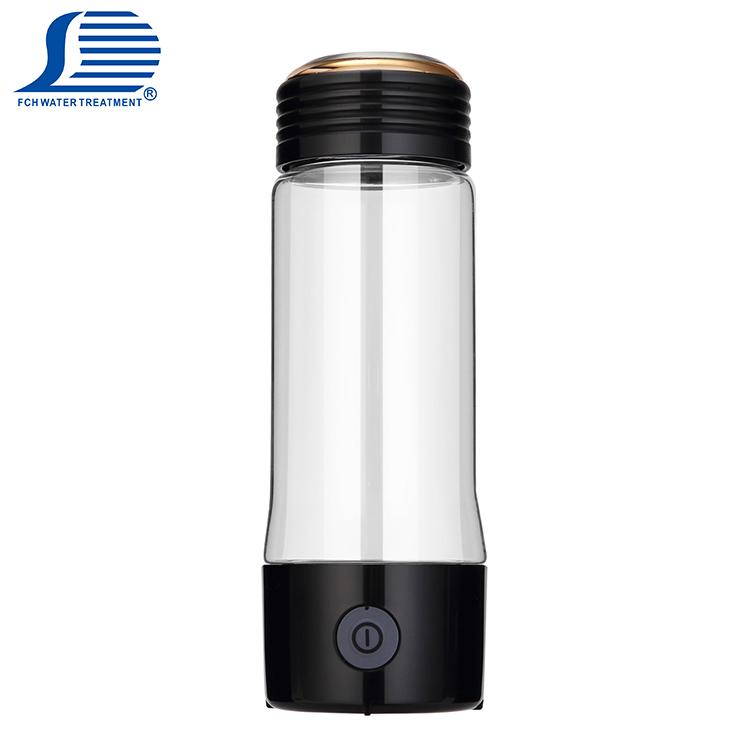 사용자 정의 로고-500 ~-700mV ORP 물 병 한국 풍부한 수소 물 메이커 변환 인터페이스