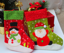 High Quality Christmas Decoration Christmas stocking for 2015 Christmas