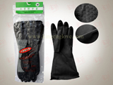 Industry cheap working rubber safety gloves
