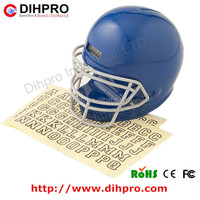 2014 hotsale American football helmet money container