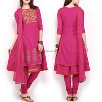 Kurta with Dupatta indian traditional style modern indian clothing wholesale